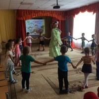 Лето в детском саду!
